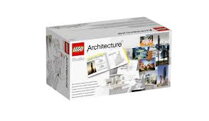 Gifts For Architecture Students Lego Targets Architects With Monochrome Brick Set