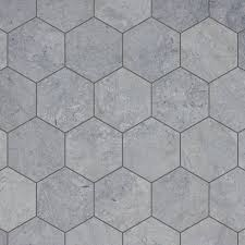 hexagon mosaic tile design