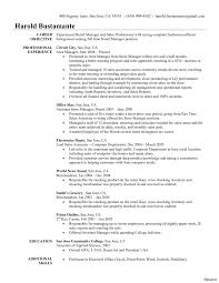 Seeking Description Crafting A Great Assistant Store Manager Resume Description