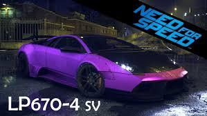 2015 lamborghini murcielago need for speed 2015 lamborghini murcielago lp670 4 sv gameplay