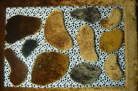 Leopard Cowhide Rug China Leopard Leather Mixed With Polyester Silk Shaggy Carpet