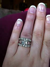 my wedding band thinking about doing this for my wedding bands what do yall
