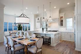 large kitchen house plans the open floor plan and large bay window this large kitchen and