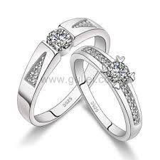 wedding ring malaysia 925 sterling silver promise wedding bands set with custom names