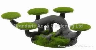 imitation pine resin aquarium ornament moss tree px471 px581