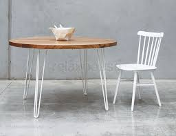 hairpin leg coffee table round round dining table custom made