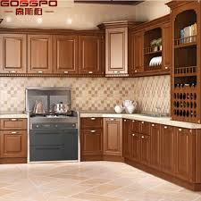 high quality solid wood kitchen cabinets china modern simple designs wood kitchen cabinet with high