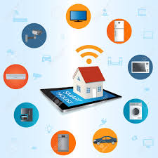 smart home technology internet of things concept smart home technology internet