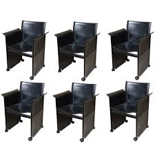 Modern Dining Room Chair Best 25 Black Leather Dining Chairs Ideas On Pinterest Black