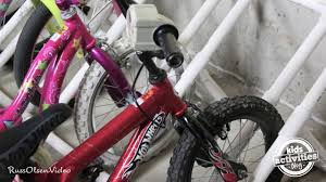 diy bike rack made from pvc pipes youtube