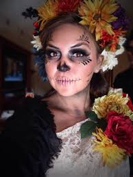 dia los muertos halloween costume at disneyland halloween party