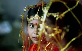 11 years old that has highlights at the bottom of their hair jharkhand bjp chief s son marries 11 year old days after