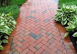 2017 Brick Paver Costs Price Clay Brick Pavers