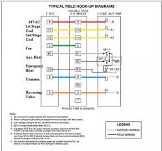 heat pump thermostat wiring diagrams model 9520 wiring diagrams