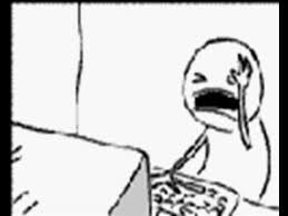 Head Desk Meme - guy smashes his head on a computer keyboard youtube