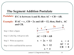 Segment Addition Postulate Worksheet How To Do Segment Addition Postulate Bioinformatics R D