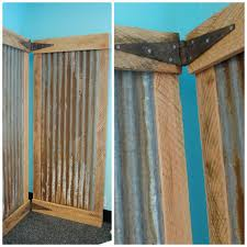 Rustic Room Divider Free Ship Industrial Room Divider Screen Bifold With