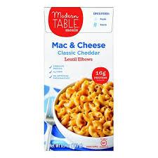 modern table mac and cheese modern table creamy classic cheddar mac cheese 8oz target