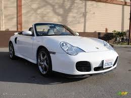 Porsche 911 White - 2005 carrara white porsche 911 turbo s cabriolet 41112320