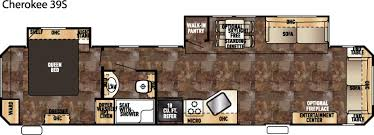 5th Wheel Camper Floor Plans by 100 Fifth Wheel Bunkhouse Floor Plans Class A Rv Floor