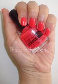 notd maybelline forever strong pro u0027490 salsa u0027 the 6 inch