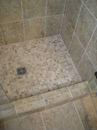 Tiled Bathroom Shower Mosaic Tile For Shower Floor Mesmerizing Interior Design How To