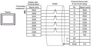 wiring diagram 2 mitsubishi electric a series cpu direct faqs