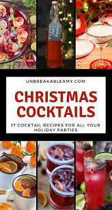 christmas martini recipes christmas cocktails roundup a collection of 17 christmas cocktails