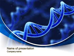 3d dna presentation template for powerpoint and keynote ppt star