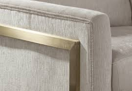 Donny Osmond Home Decor by Accent Chair In Ivory Fabric By Donny Osmond