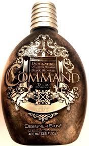 2 designer skin command black 4x bronzer tanning angel moisturizer