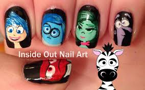 inside out nail art tutorial youtube