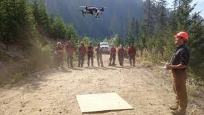 Wildfire Training Bc by B C Wildfire Service Tests Drones To Help Fight Map And Prevent