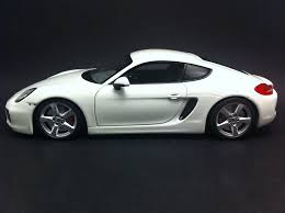 porsche cayman white porsche cayman 981 2013 white 1 18 minichamps 113062221 selection rs