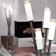 Esszimmer Beleuchtung Tisch Leuchte Metall Antik Braun Glas Weiß Wohn Esszimmer