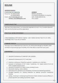 Best Career Objective In Resume For Freshers by Best Curriculum Vitae Examples Beautiful Excellent Professional