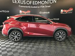 lexus nx touch up paint new 2017 lexus nx 200t 4 door sport utility in edmonton ab l13395