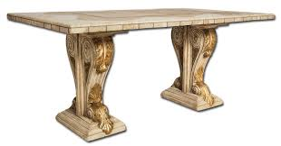 victorian two sided dining table base castellano collection