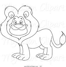 royalty free stock lion designs of coloring sheets