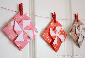 origami pinwheel envelopes a spoonful of sugar