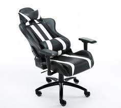 Gaming Desk Uk by Gaming Desk Chair Pu Leather Gt White Racing Esports Ergonomic