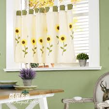 Sunflower Valance Kitchen Curtains by Compare Prices On Kitchen Curtains Sunflower Online Shopping Buy