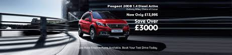 used peugeot finance new used peugeot north west windsors