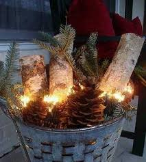 Decorating Your Home For Christmas Ideas 30 Breathtakingly Rustic Homemade Christmas Decorations Front