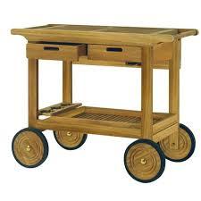 kingsley bate teak serving cart sc35