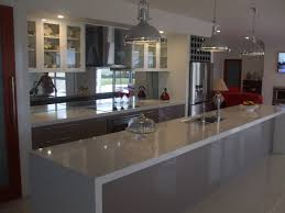 granite countertop staining kitchen cabinets darker before and