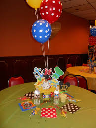 mickey mouse clubhouse centerpieces mickey mouse clubhouse birthday party ideas photo 6 of 38