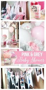 pink and gray baby shower pink and grey baby shower landeelu