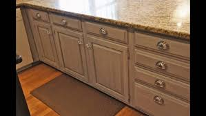 how to paint kitchen cabinets with milk paint painting kitchen cabinets with chalk paint youtube small modern