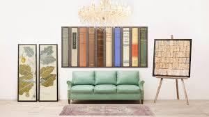 vintage book wall art decor large natural curiosities loversiq